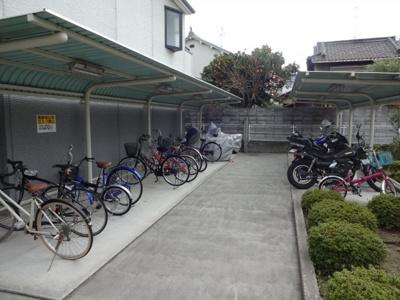 駐輪場・原付可能