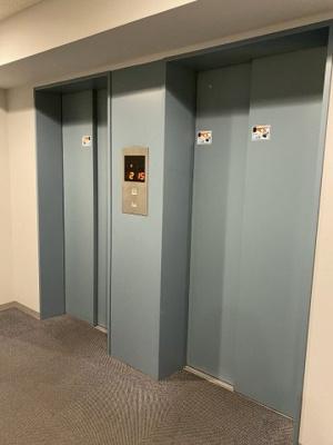 エレベーターがついているので、上下階の移動が楽にできます。