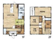 【中古戸建】有功中学校区・111399の画像