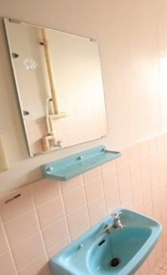 【洗面所】富任シーコーポラス 6号棟 7号室