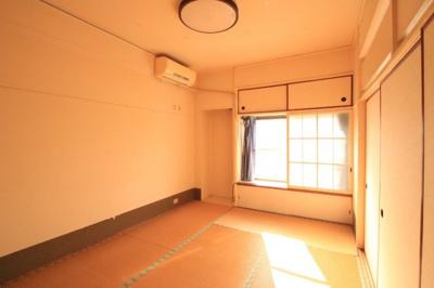 【寝室】富任シーコーポラス 6号棟 7号室