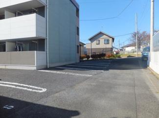 【駐車場】水戸市新荘2丁目一棟アパート