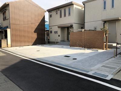 【外観】パルフェ駐車場