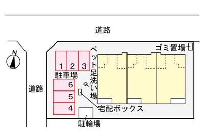 【その他共用部分】プランドール弥勒寺