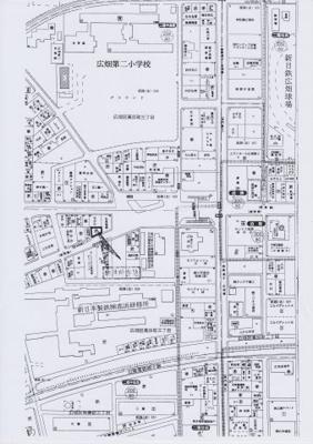 【地図】広畑区高浜町3丁目売土地