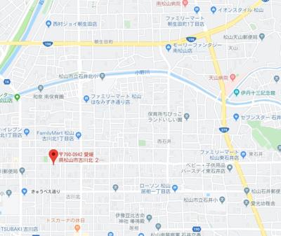 【地図】古川北2丁目西原貸家