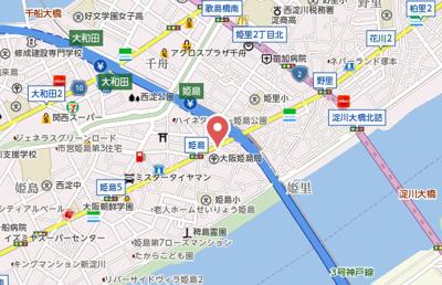 【地図】プレアール姫島