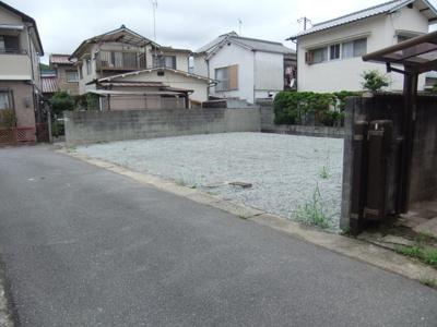【前面道路含む現地写真】姫路市北平野南の町/売土地