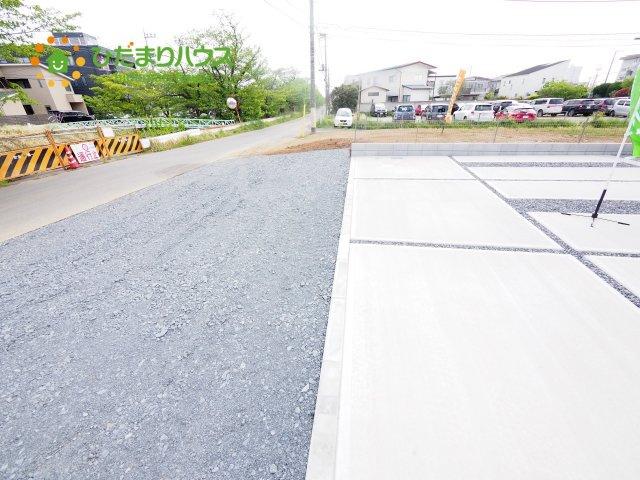 【前面道路含む現地写真】土浦市立田町 新築戸建