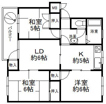 神陵台東住宅 48号棟