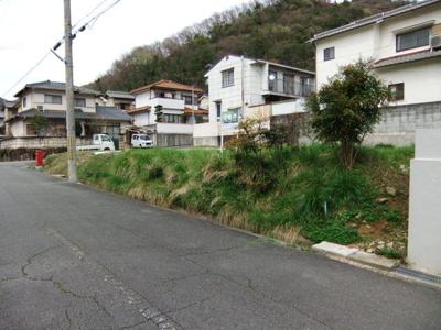 【前面道路含む現地写真】姫路市緑台一丁目/売土地
