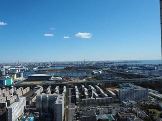 東側眺望 高い建物がなく開放感良好