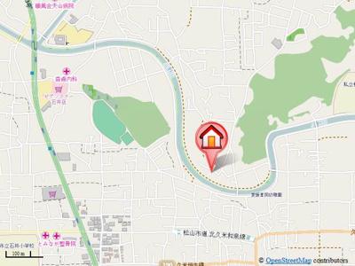 【地図】星岡3丁目借家・