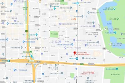 【地図】セントロイヤルクラブ谷町