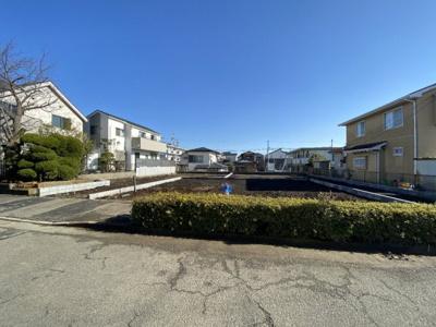 【外観】藤沢市大庭 建築条件無し土地3区画 整形地