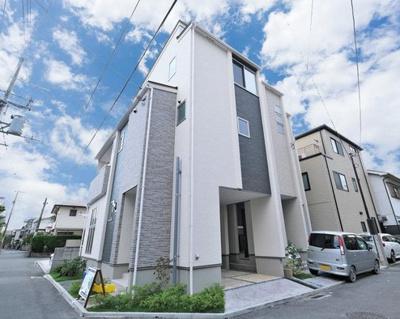 【外観】東大阪市花園西町1丁目 1号地 新築戸建