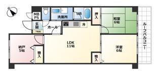 ライオンズマンション奥須磨 仲介手数料無料の画像