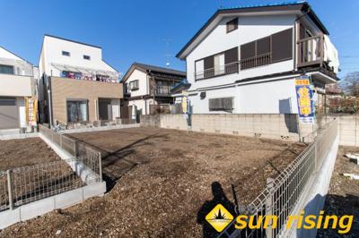 【外観】建築条件付売地 武蔵村山市学園1丁目 2号区