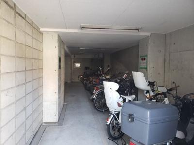 駐輪場☆神戸市垂水区 ルシエール垂水☆