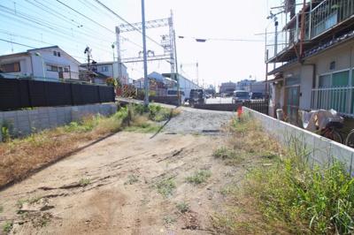 【外観】伏見区深草上横縄町 注文建築 建築条件なし 土地
