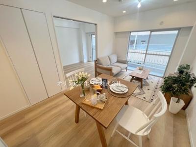 【外観】小名木川ハウス 9F リフォーム済 67.01㎡