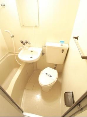【浴室】マートルコート中目黒第2