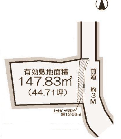 土地約44.71坪