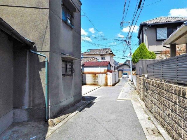 【前面道路含む現地写真】堺市西区浜寺石津町中 売り土地