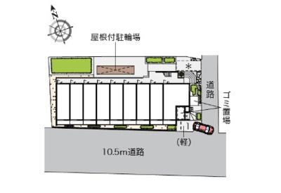 【駐車場】ヴィアロ谷原レジデンス(58941-310)