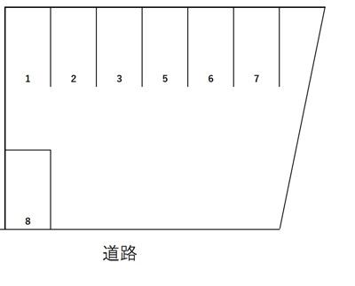 【区画図】みどりパーキング
