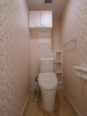 うれしいトイレに収納たっぷり♪