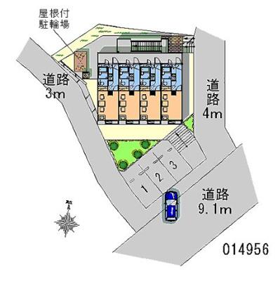 【地図】笹下