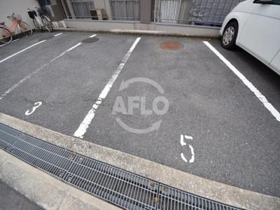 上之宮台ハイツ 駐車場