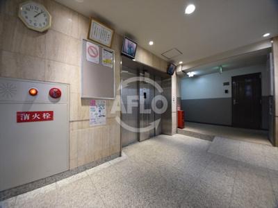 上之宮台ハイツ エレベーターホール