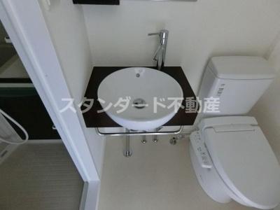 【洗面所】コンフォリア扇町