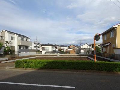 【外観】藤沢市大庭 売地 3区画 A