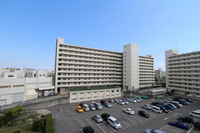 【展望】明舞北センタービル4号棟