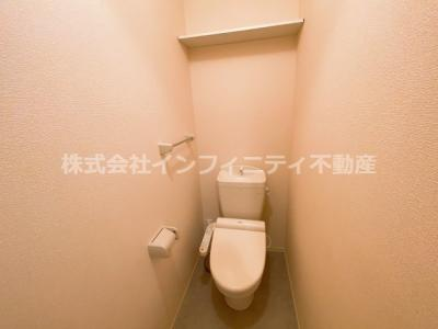 【トイレ】グラッツィエ