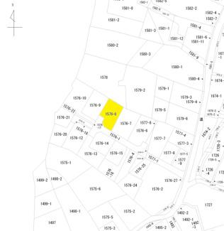 【土地図】足利市山下町