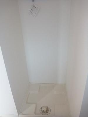 洗面所内洗濯機置き場