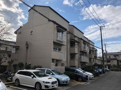 【現地写真】【現地写真】鉄筋コンクリート造の84戸の大型マンション♪