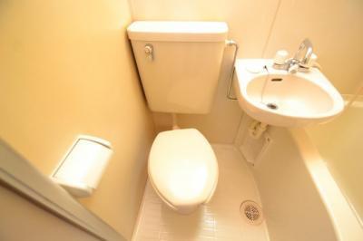 【トイレ】ホワイトマンション
