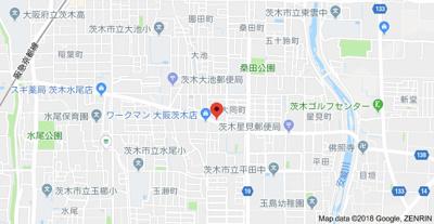 【地図】イースト並木