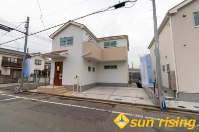【外観】福生市大字熊川 新築分譲住宅 全2棟1号棟