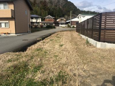 【外観】丹波篠山市東本荘 トレーラーハウス付き売り土地
