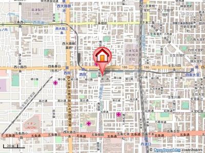 【地図】セットレジデンス