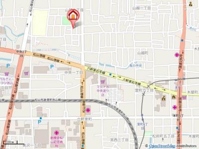 【地図】プラシード山越
