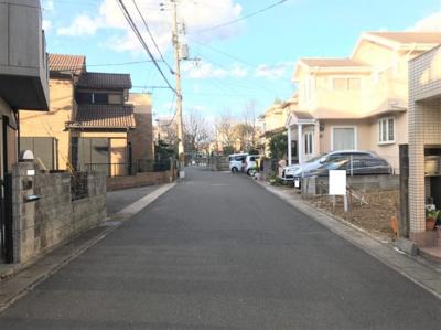 【前面道路含む現地写真】京都市伏見区醍醐京道町