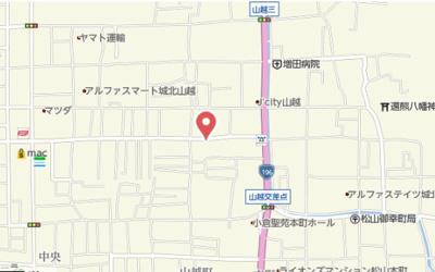 【地図】南海ハイツ