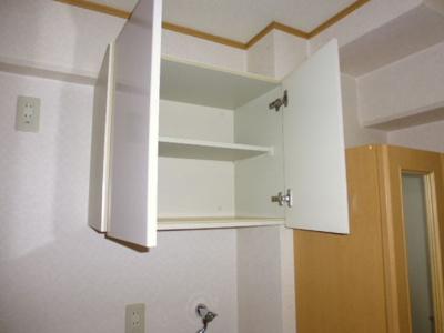 洗濯機置き場上部棚